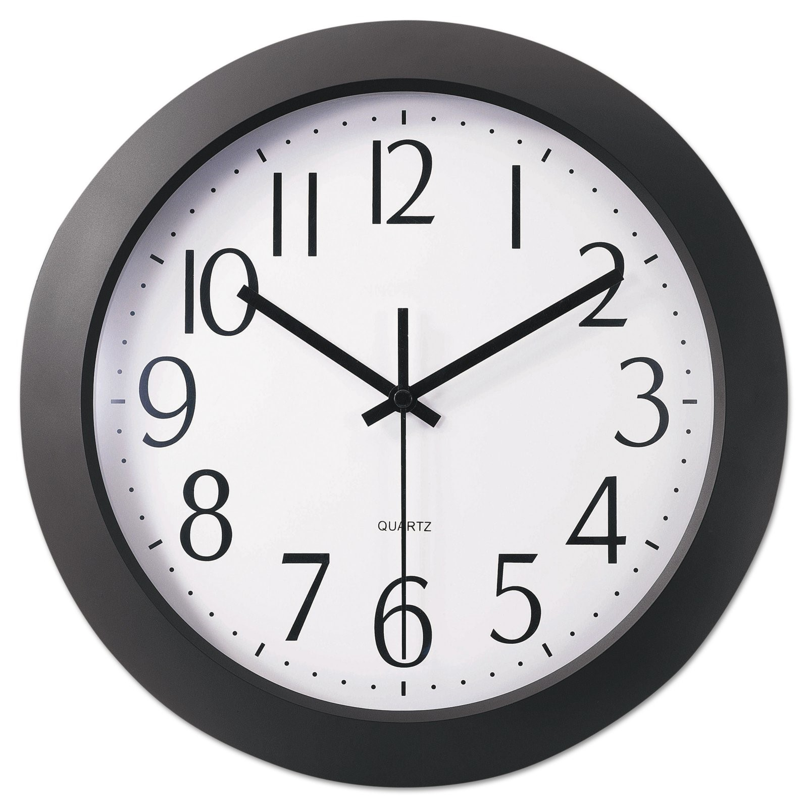 Universal Whisper Quiet 12 in. Wall Clock