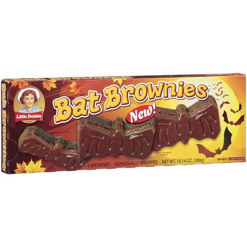 Little Debbie Bat Brownies, 6 ct, 10.14 oz