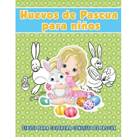 Halloween Colorear Dibujos (Huevos de Pascua Para Ni�os : Dibujo Para Colorear Conejito de)