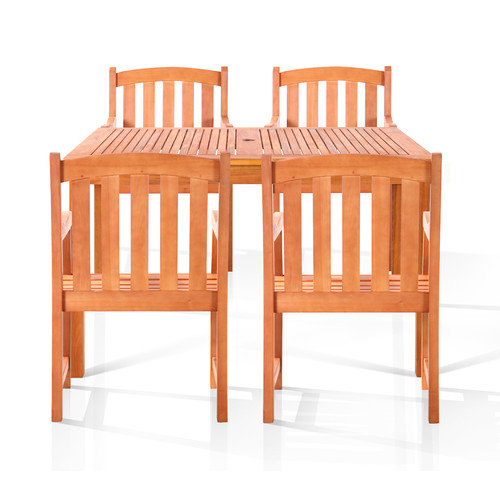 Vifah Coolidge 5 Piece Dining Set