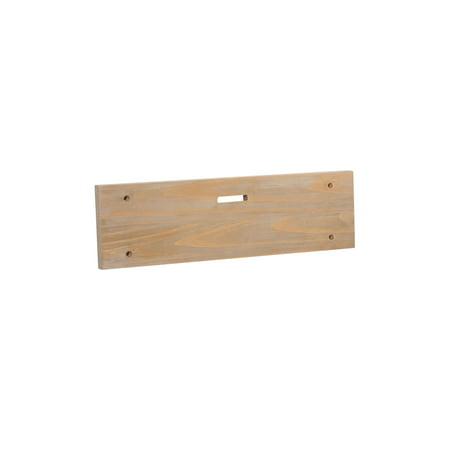 Oak Caramel (Natural Grain Caramel Oak Wall Mount Single Slot Board -  20