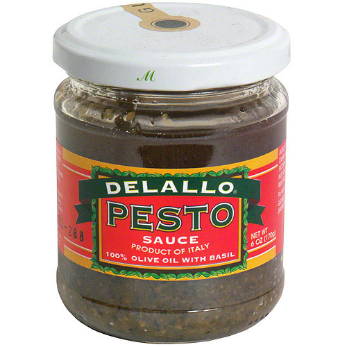 Delallo Olive Oil Pesto Sauce, 6.5 oz (Pack of 12)