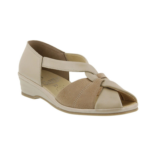 Women's Spring Step Jasna Peep Toe Sandal by HALIFAX TRADER