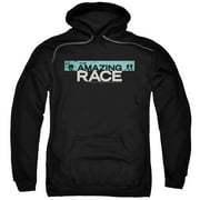 The Amazing Race Bar Logo Mens Pullover Hoodie