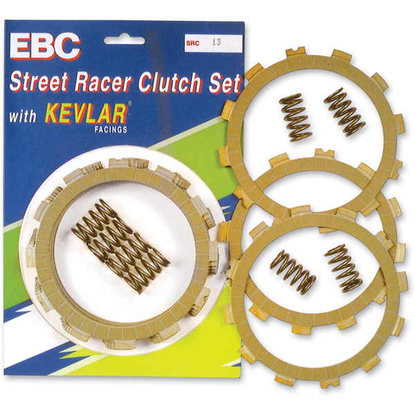 EBC SRC Series Race/Sport Kevlar Clutch Kit Fits 91-94 Honda CBR600F2
