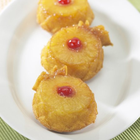 Nordic Ware Bundt Bakeware Cast Aluminum Nonstick Mini Pineapple Upside Down Cake Pan](Mini Pineapple Upside Down Cakes)