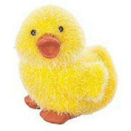 Fuzzy Lil' Duck Springtime Figurine by Ganz (Ganz Duck)