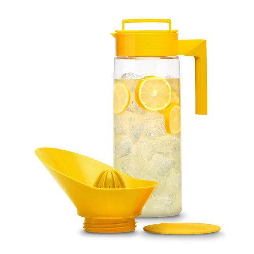 Takeya Flash Chill Lemonade Maker, Lemon, 66-Ounce