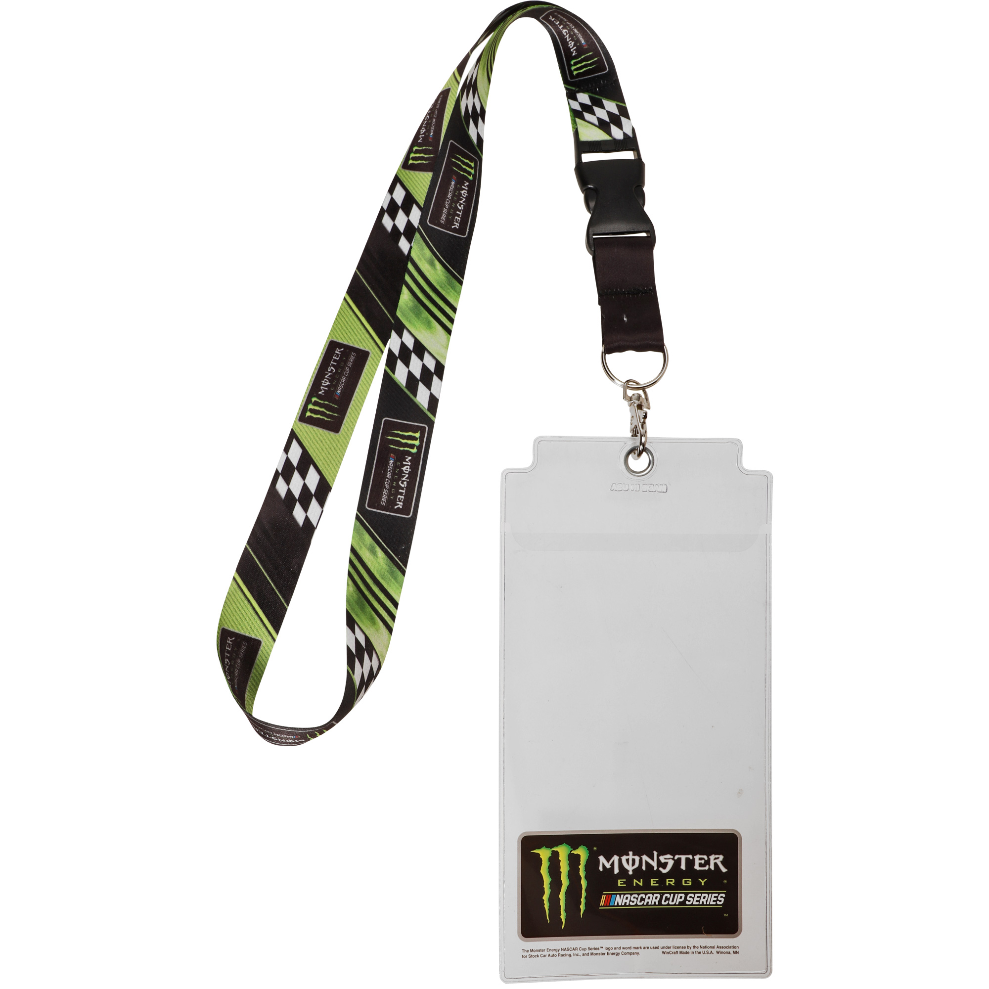NASCAR Merchandise WinCraft MonsterCup Name and Number Credential Holder - No Size