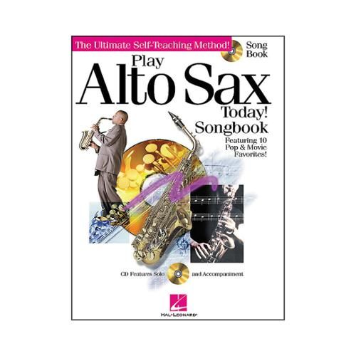 Hal Leonard Play Alto Sax Today Songbook Book & CD