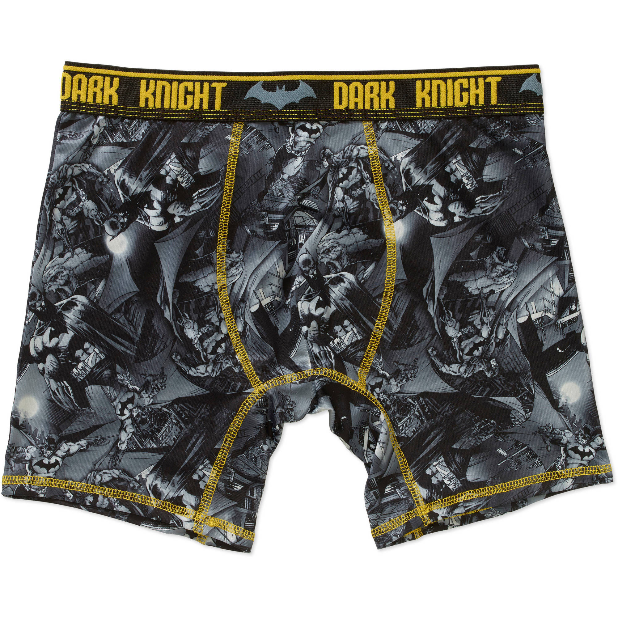 DC Men's Batman Poly Boxer Brief