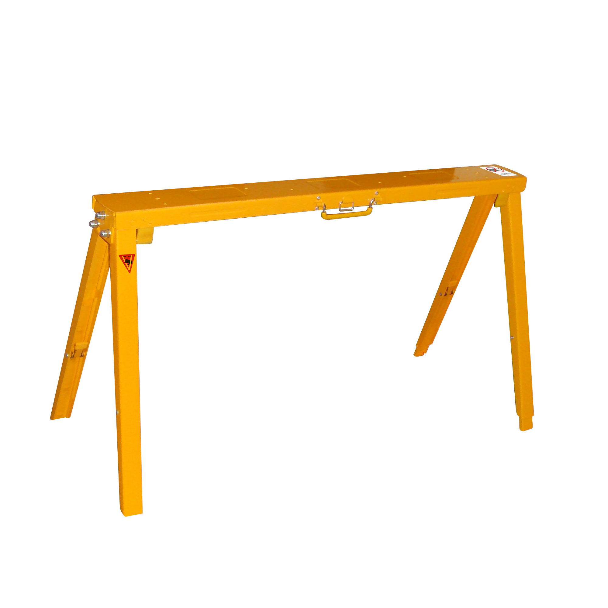 FRONTIER Steel Adjustable Height And Folding Sawhorse