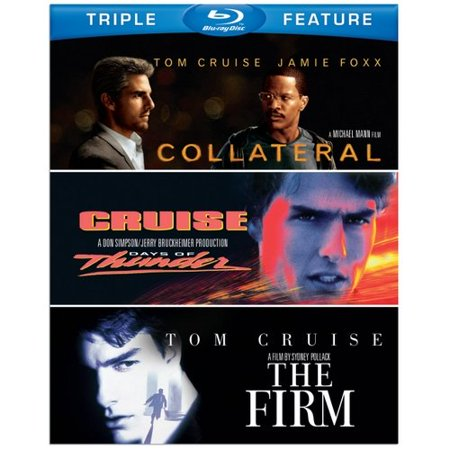 Tom Cruise Triple Feature  Blu Ray   Collateral   Days Of Thunder   The Firm
