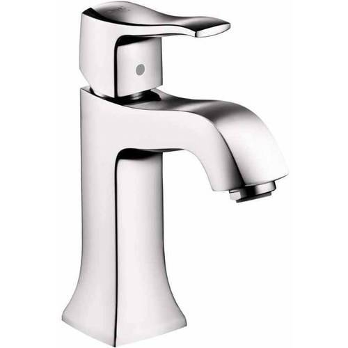 Hansgrohe 31075921 Metris C Bathroom Faucet Single Hole Faucet with Lever Handle, Various Colors