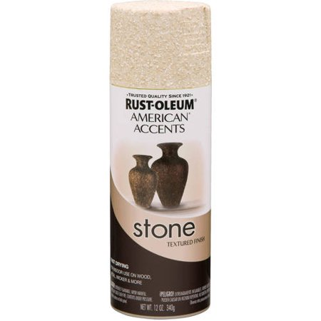 rust oleum american accents stone spray. Black Bedroom Furniture Sets. Home Design Ideas