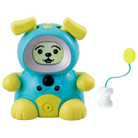 Vtech Kidiminiz KidiDog Interactive Pet Dog - Aqua Puppy