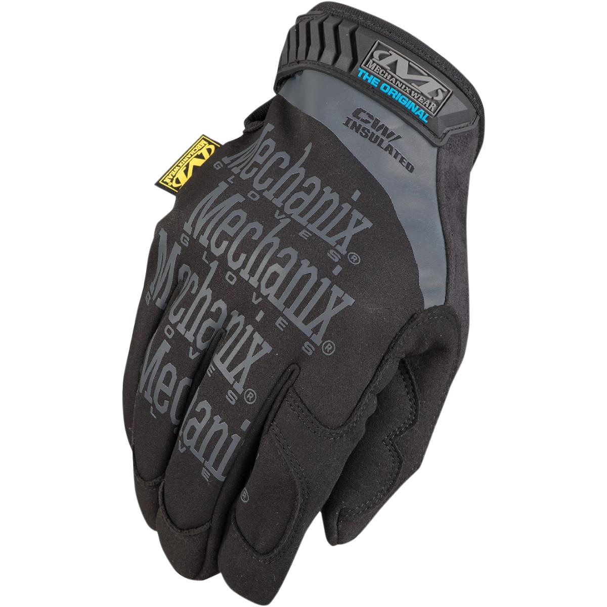 Mechanix Wear The Original Insulated Work Gloves (Black, Large 10)