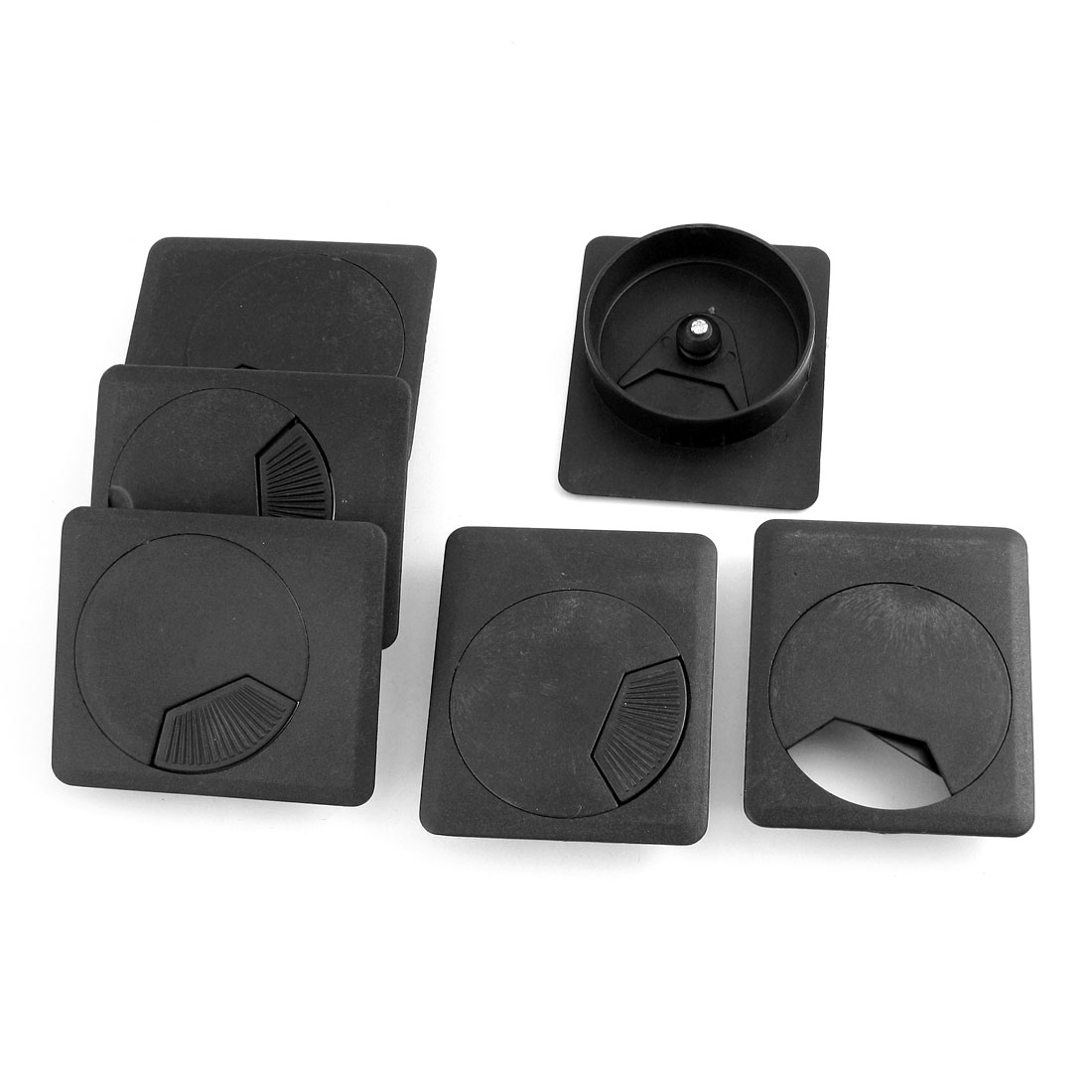 office desk cable hole. Unique Bargains 6 Pcs Office Computer Desk Cable Hole Covers Plastic  Grommets Gray 55mm Office Desk Cable Hole S