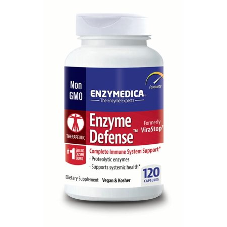 Enzymedica - Enzyme Defense, Complete Immune System Support, 120 Capsules