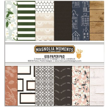 Magnolia Moments 6 x 6 Paper Pad - Fancy Pants](Fancy Paper)