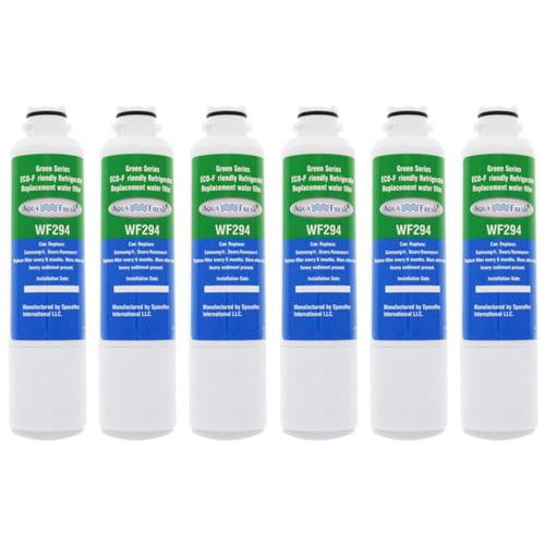 AquaFresh Replacement Filter for Samsung DA29-00020B   WF294 (6-Pack) Refrigerator Water Filter Aqua Fresh by Aqua Fresh
