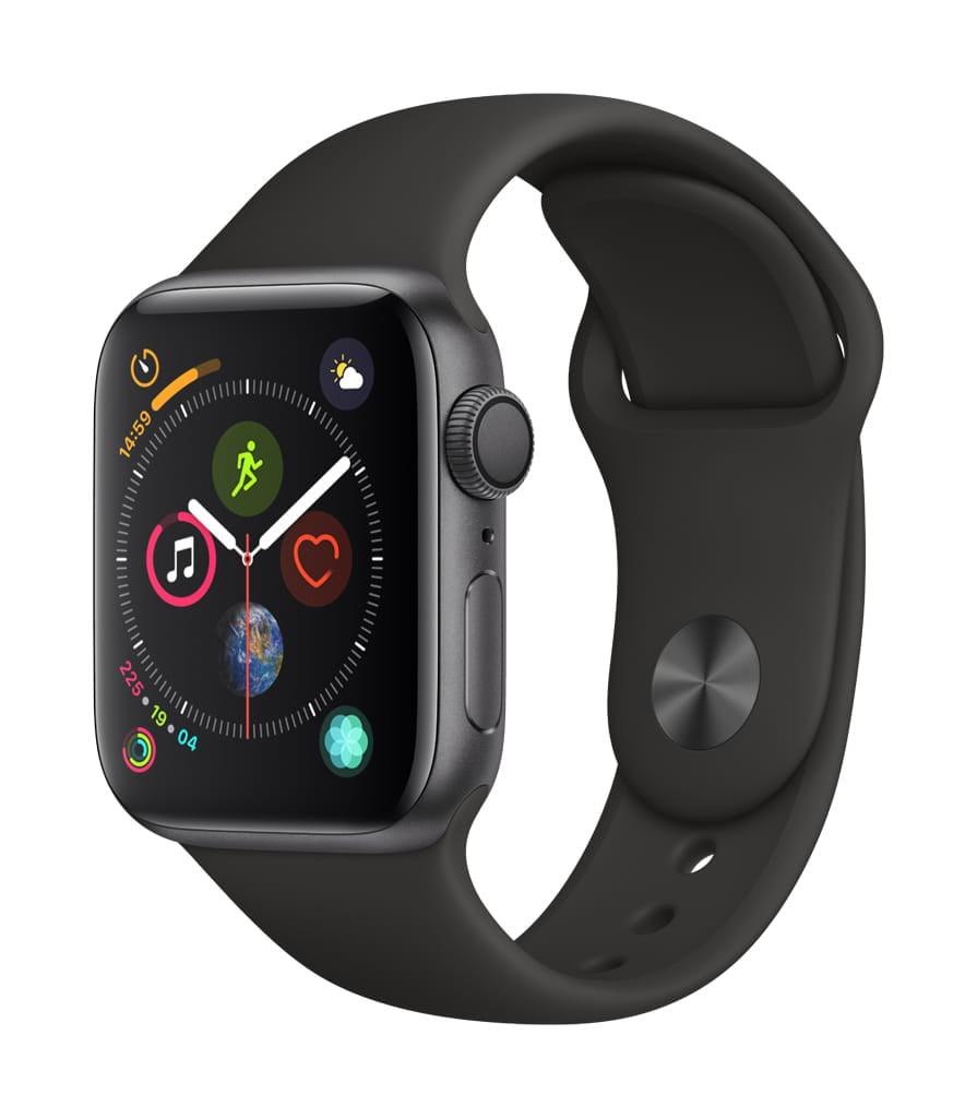 Apple Watch Series 4 GPS – 44mm – Sport Band – Aluminum Case