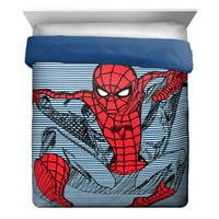 Marvel Comics Spider-Man Reversible Twin Comforter Spidey Bedding