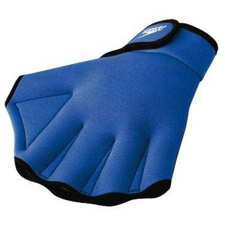 (Speedo Aqua Fit Swim Training Gloves, Water Paddle Suit TrainingExercise Swim Training Womens Goggles Aerobic Gloves Mirrored Goggle Light Michael Swimming.., By)
