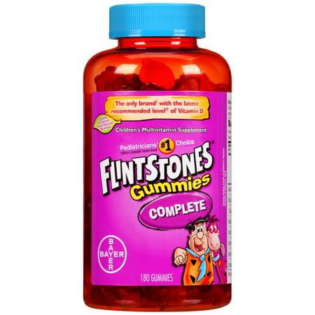 Flintstones Gummies Complete Children's Multivitamin, 180 Count