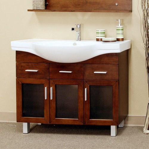 Bellaterra Home Crenshaw 40'' Single Bathroom Vanity Set