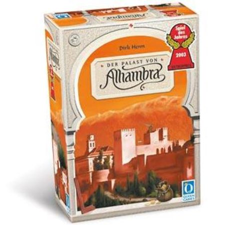 Queen Games 60373FO Alhambra Board Game](Award Winning Games)