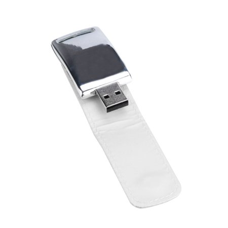 USB 2.0 2GB Business Leather Flash Drive Memory Stick U-Disk WH