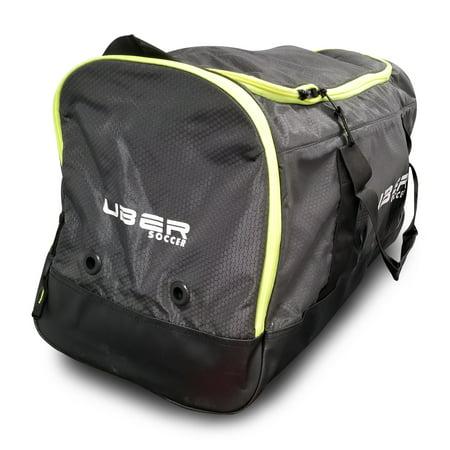 Uber Soccer Team Kit Bag - Large - Green and Black