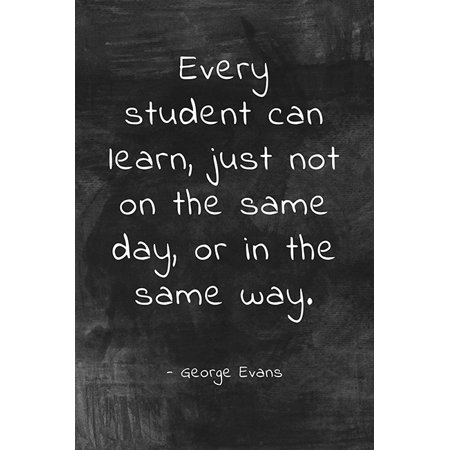 Every Student Can Learn, classroom motivational poster](Classroom Posters)