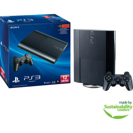 Sony PlayStation 3 (PS3) 12GB Gaming Console, Black