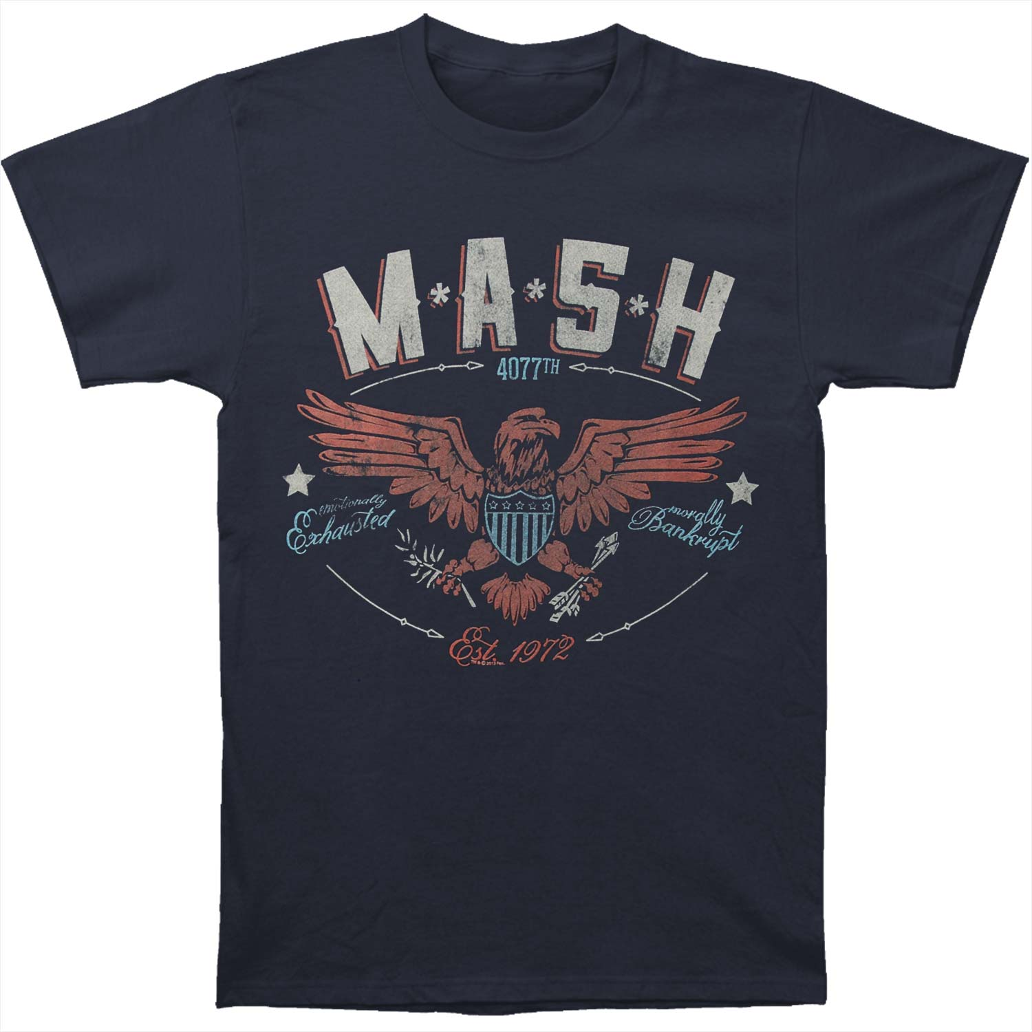 Mash Men's  Eagle T-shirt Navy