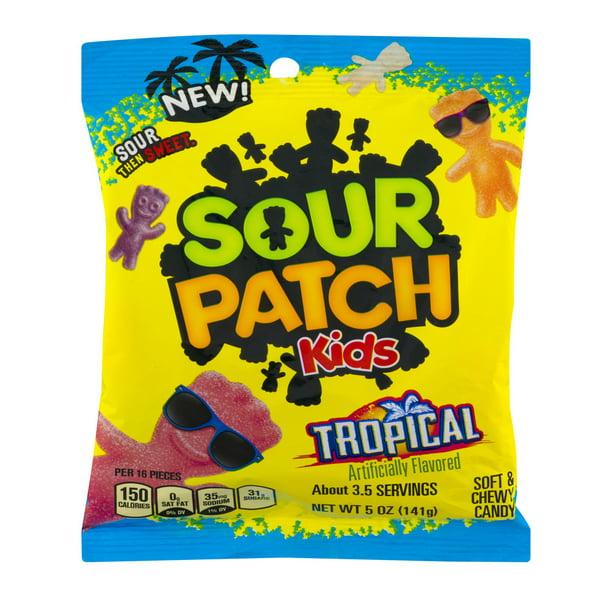 Sour Patch Kids Tropical Candy 5 Oz Bag Walmart Com Walmart Com