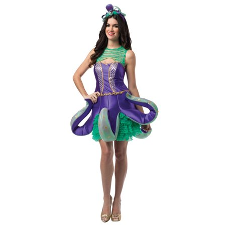 Ornate Octopus Adult Women Costume