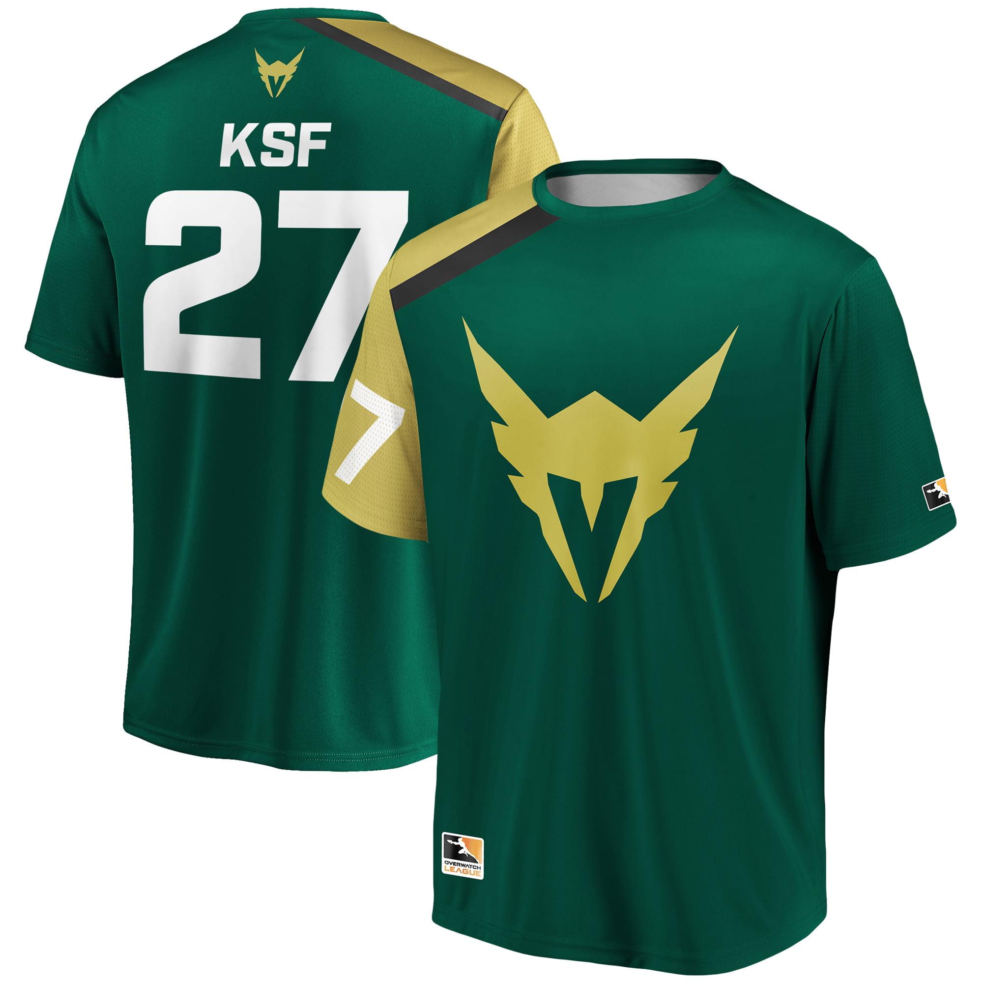 KSF Los Angeles Valiant Overwatch League Replica Home Jersey - Green