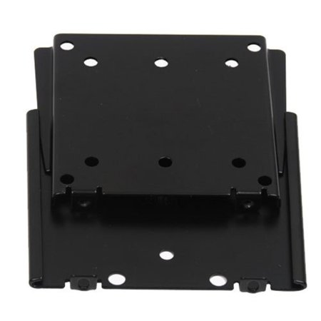 Tc Black Powder - Ultra Slim Flat Panel TV LCD TV Wall Mount Bracket for 15
