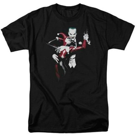 Trevco Batman-Harley And Joker - Short Sleeve Adult 18-1 Tee - Black, 4X](Batman And Joker Party Supplies)