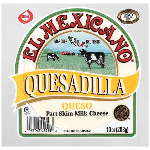 El Mexicano Quesadilla Queso Cheese, 10 oz