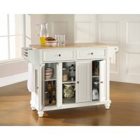 Crosley Furniture Cambridge Natural Wood Top Kitchen Island