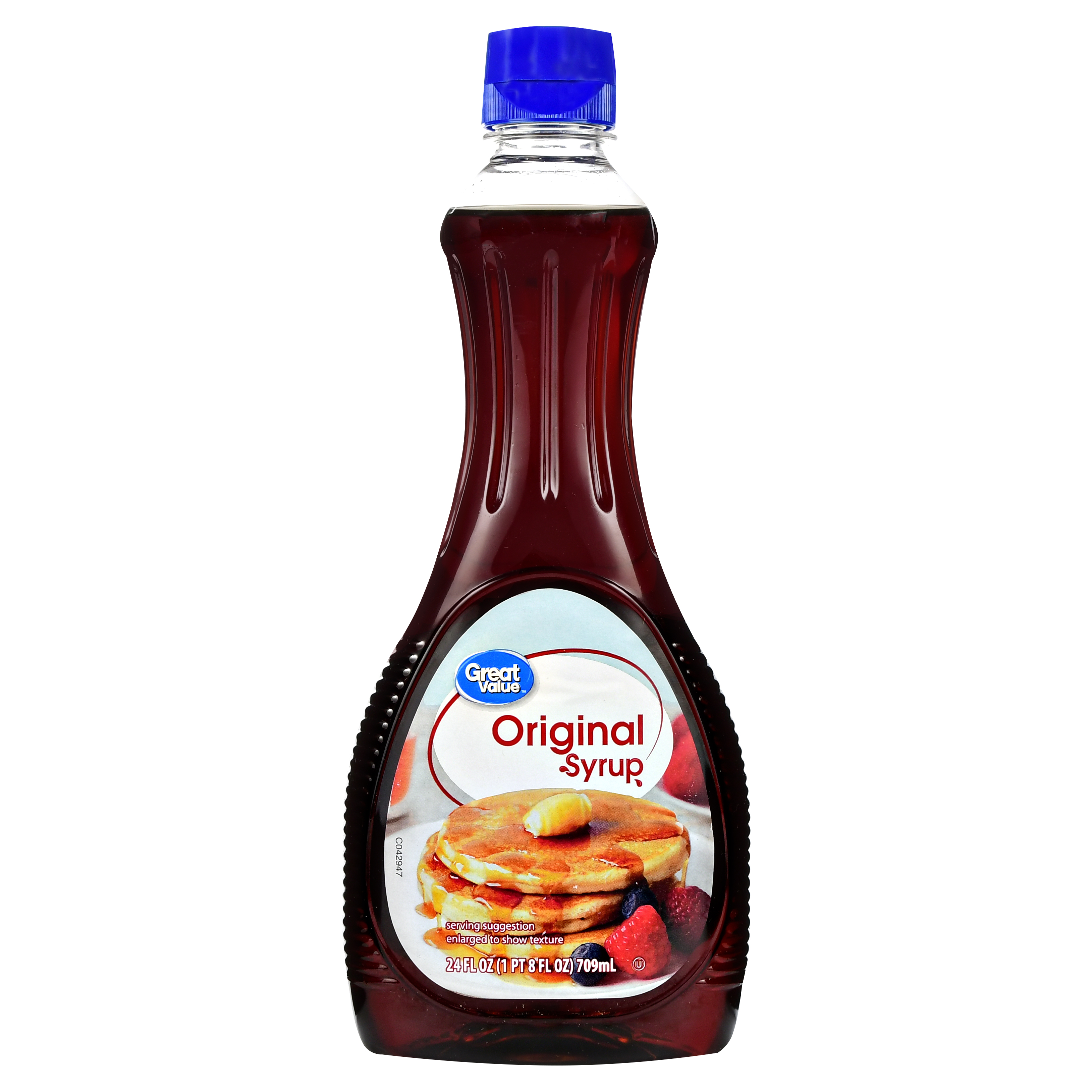 Great Value Original Syrup, 24 oz
