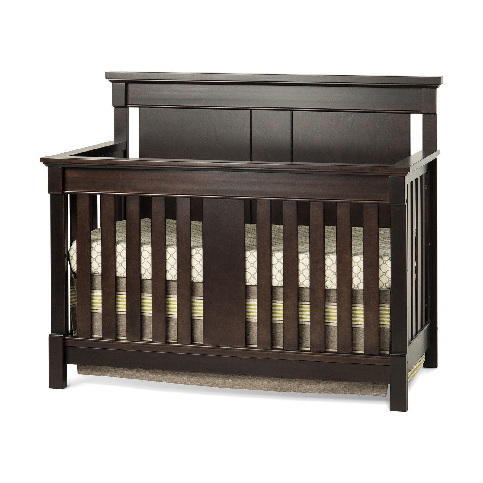 Child Craft Bradford 4-in-1 Convertible Crib Rich Java