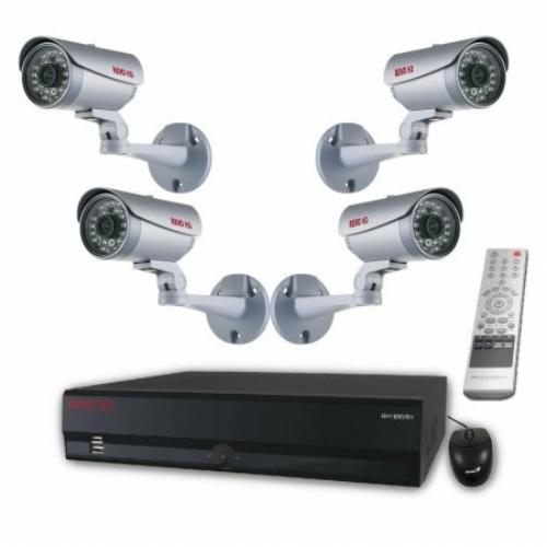 Revo America RH161B4C-2T 16ch Hd 2tb Nvr With Built-in Perp 8ch Poe Switch & 4 Cameras