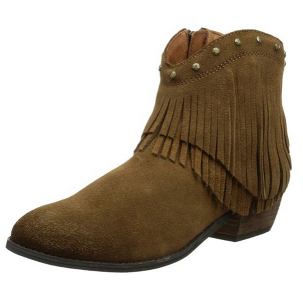 Minnetonka Women Bandera Boots by Minnetonka Moccasin Company Inc.