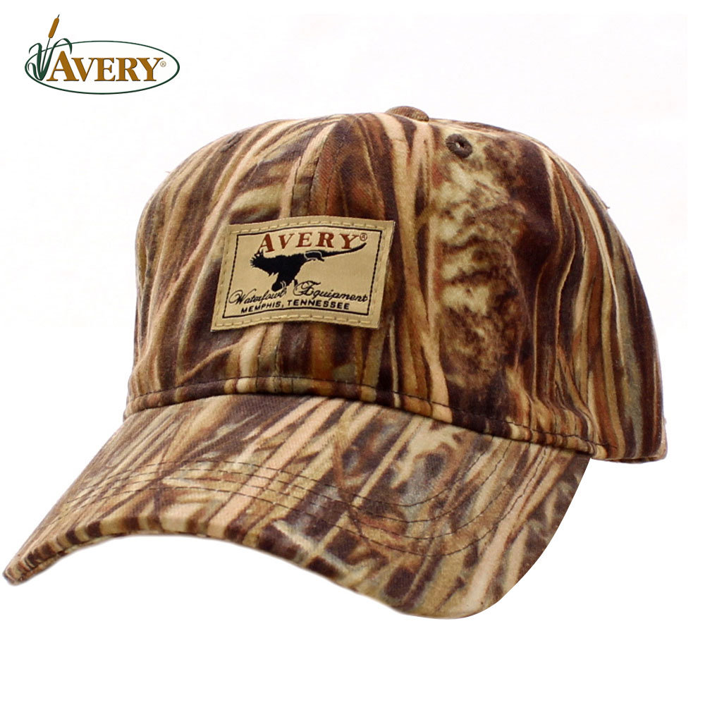 Avery Outdoors AWE 8-oz Oil Cloth Cap- Marsh Grass