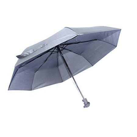Construction Umbrella (ABP Digital Ultra Light Compact Travel Umbrella with Windproof Construction, Teflon Coating, Reinforced Canopy, Auto)