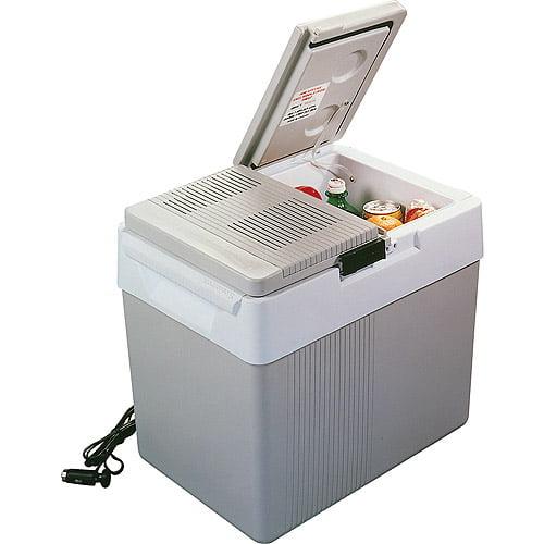 Koolatron P65. Kargo Kooler 33 quart 12 volt Thermoelectric Portable Travel Cooler, 42 can capacity